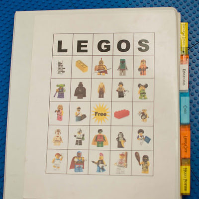Lego Instructions Organizing Book
