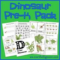 Dinosaur Pre-K Pack