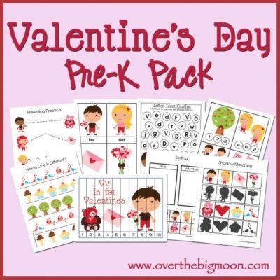 Valentine's Day Pre-K Pack