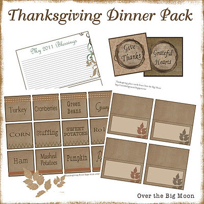 Thanksgiving Dinner Pack