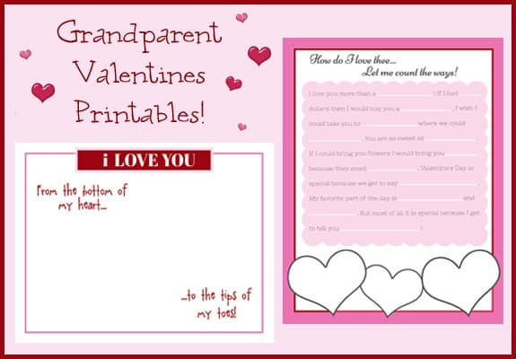 Valentines for Grandparents – Valentine Cards Poems