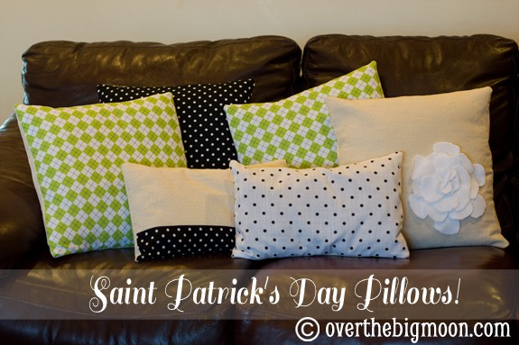 stpatricksdaypillows3 St. Patricks Day Pillows