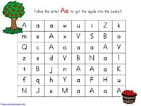 ABC Maze Letter Aa Our Menus this Week and Pinterests Interests