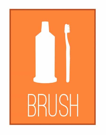 brush copy 451x575 Bathroom Printables