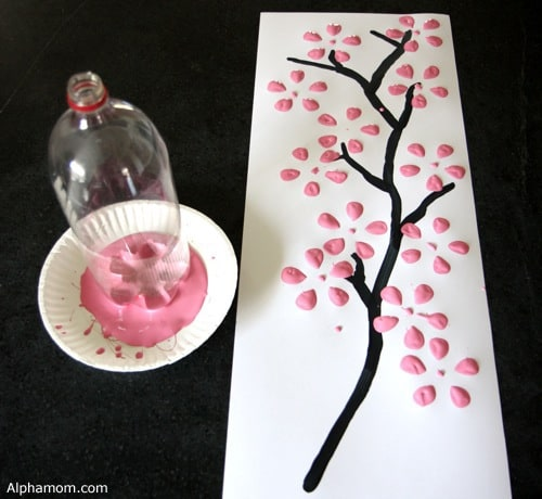 cherry blossom art 1 wm Menus This Week & Pinterests Interests