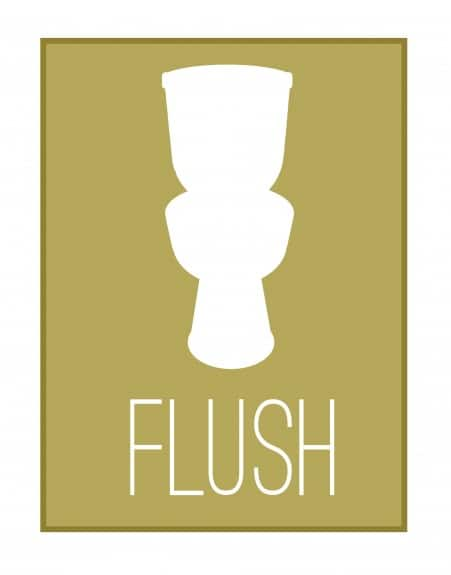 flush copy 451x575 Bathroom Printables