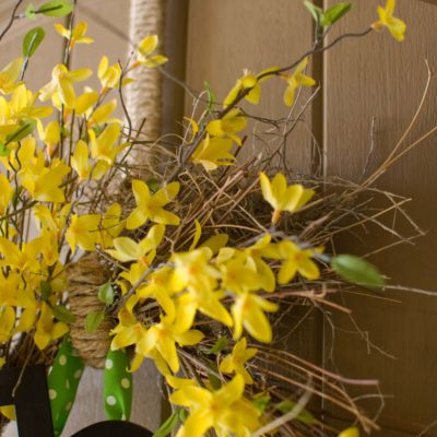 Wreath Hanger Makeover & Tutorial