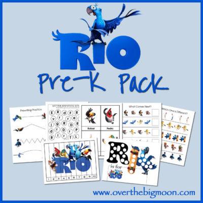 Rio Pre-K Pack