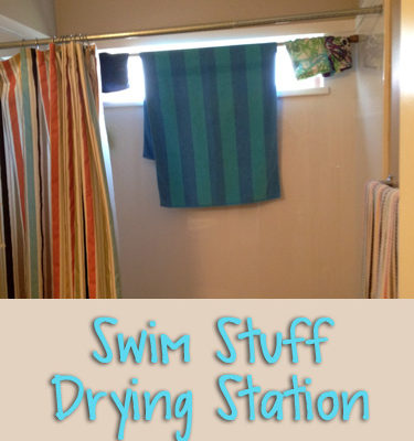 Swim Stuff Drying Station