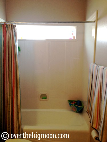 One of my biggest pet peeves is having the shower curtain open in their bathroom. & Swim Stuff Drying Station - Over The Big Moon