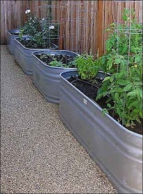 galv planters Gardening Basics   Planters, Beds, and Trellises
