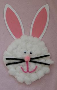 paper plate easter bunny Easter Week