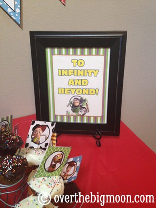 Buzz Toy Story Party Printables
