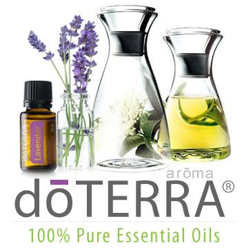 DoTerra Oils Logo Using Essential Oils in the Yard & Garden