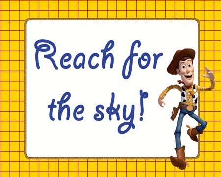 ReachfortheSkyButton Toy Story Party Printables