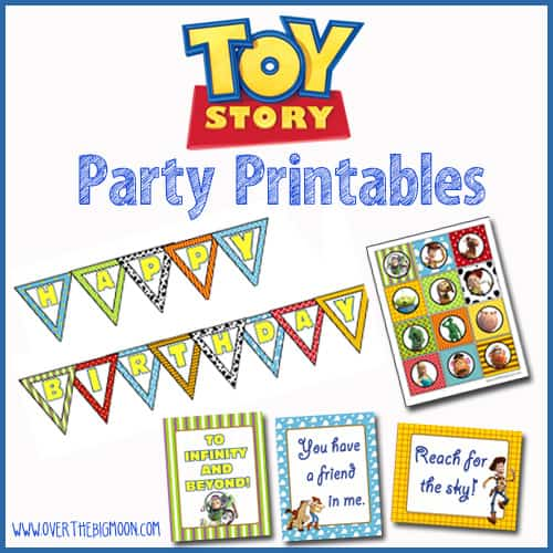 ToyStoryButton Toy Story Party Printables