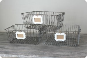 Wire storage baskets with labels thehouseofsmiths.com  300x200 This Weeks Menu and Pinterest Interests 5.12.12