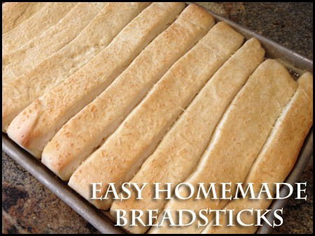 button1 Easy Homemade Breadsticks