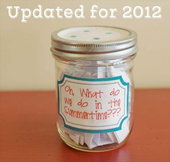 summertime 575x549 Summer Jar List 2012