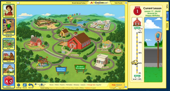 Map ABCMouse.com Review