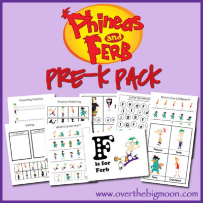 Phineas and Ferb Pre-K Pack
