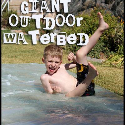 Giant Outdoor Waterbed