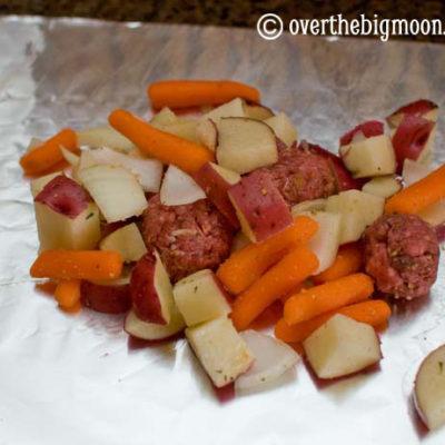 #1 Ground Beef Tin Foil Dinner