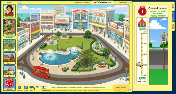 shoppingcenter ABCMouse.com Review