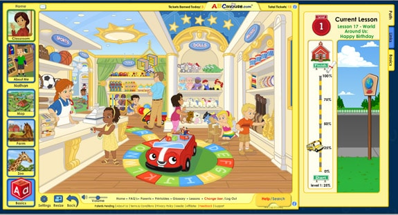toystore ABCMouse.com Review