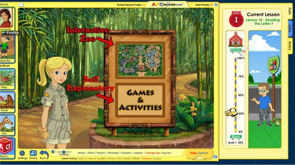 zoo2 ABCMouse.com Review