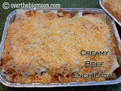 CreamyBeefEnchiladas 10 Freezer Meals in 2 Hours