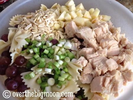 Chicken Bowtie Pasta Salad Over The Big Moon