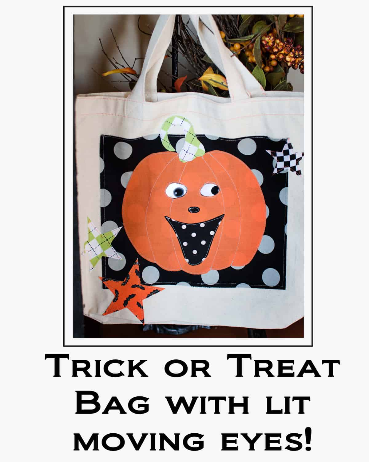 Trick or Treat Bag Button