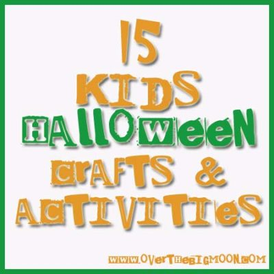 15 Kids Halloween Crafts & Activities