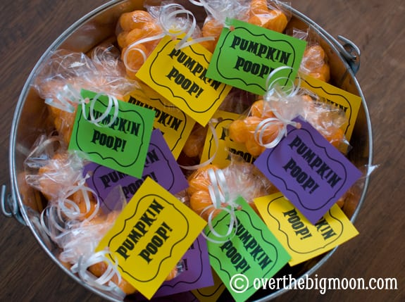 pumpkinpoop1 Pumpkin Poop {free printable}