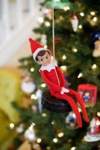 Elf On The Shelf Ideas6 199x300 25 Elf on the Shelf QUICK & EASY Ideas that take Under 5 mins!