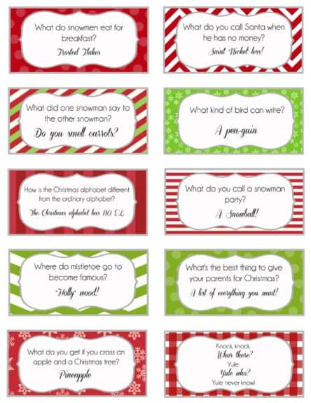Elf on the shelf jokes 2 444x575 Elf on the Shelf   Printable Joke Cards