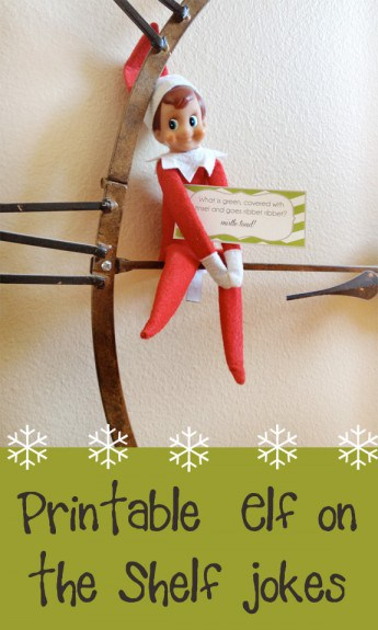 Elf on the shelf jokes buttons 345x575 Elf on the Shelf   Printable Joke Cards