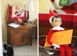 Peter 1 300x221 25 Elf on the Shelf QUICK & EASY Ideas that take Under 5 mins!