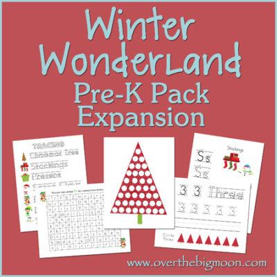 Winter Wonderland Pre-K Pack Expansion