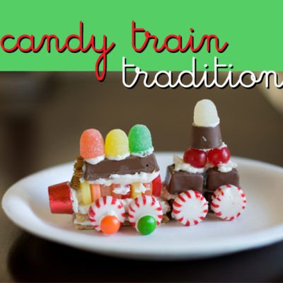 Candy Trains - Free Printable Pattern