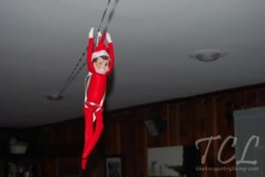 elf on the shelf g 300x201 25 Elf on the Shelf QUICK & EASY Ideas that take Under 5 mins!