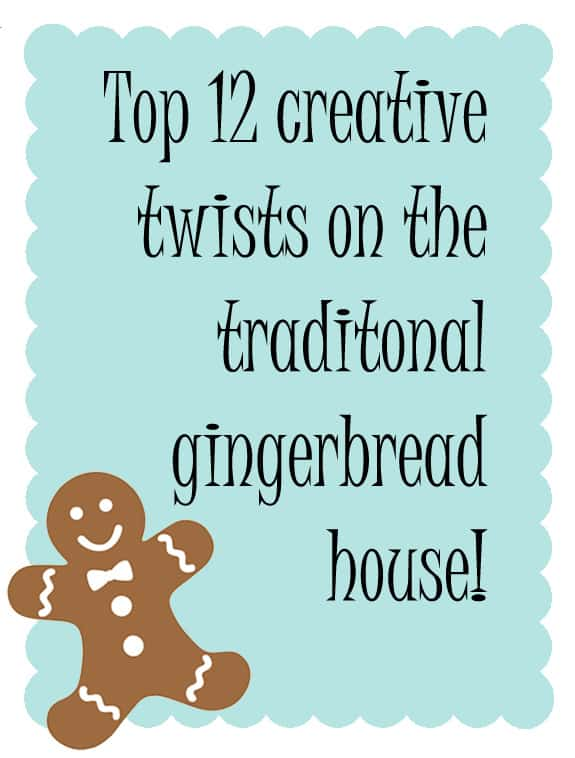 Creative gingerbread house decorating ideas
