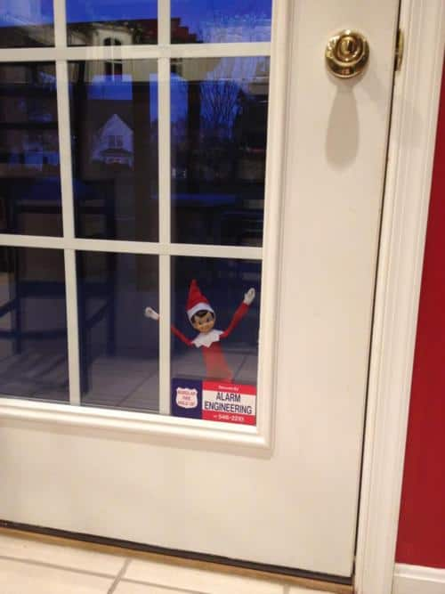Elf locked out!