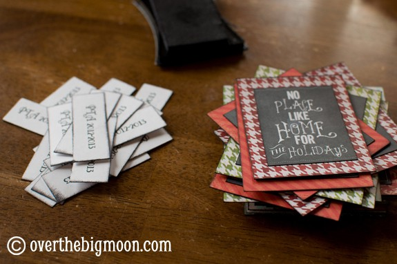DSC 0749 Turn Free Printables into Ornaments + a Round up of Free Chalkboard Printables!