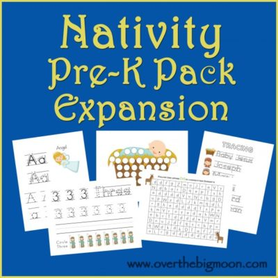 Nativity Pre-K Pack Expansion