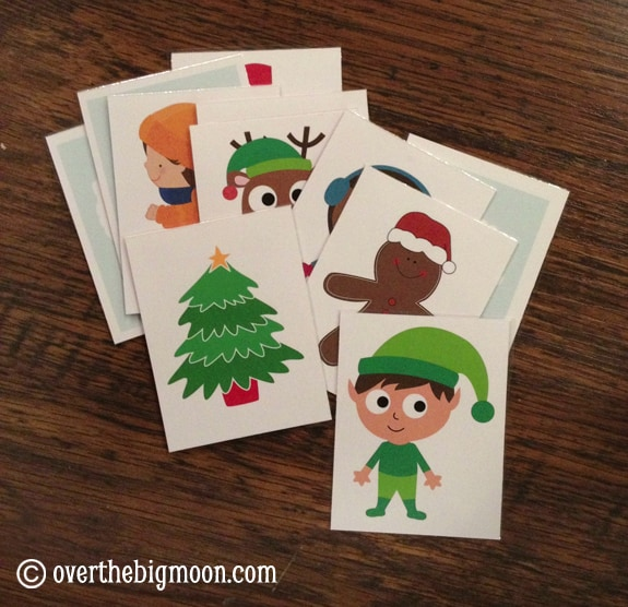 christmas happy and you know it Christmas Song Cards & Game for Kids {Free Printable}
