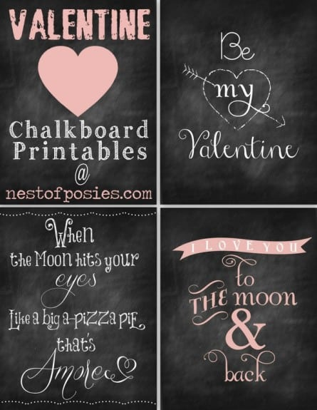Chalkboard Art1 445x575 Menus this week + Pinterest Interests 1.12.12