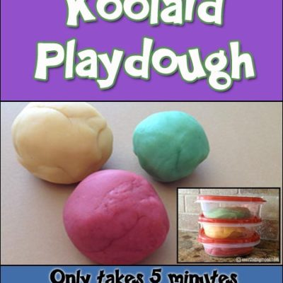 Our Favorite Homemade Playdough Recipe