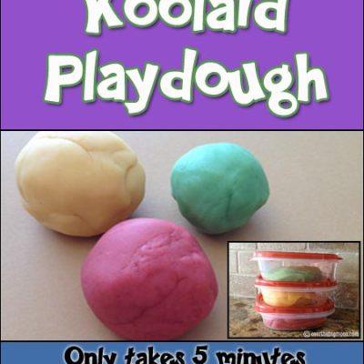 Our Favorite Homemade Playdough Recipe
